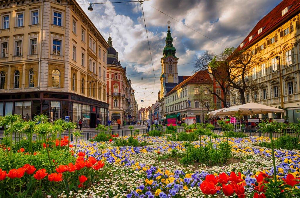 Graz en Austria