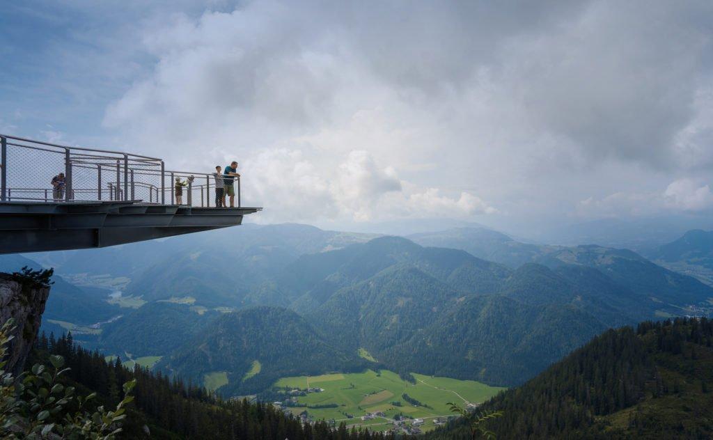 plataforma en Tirol