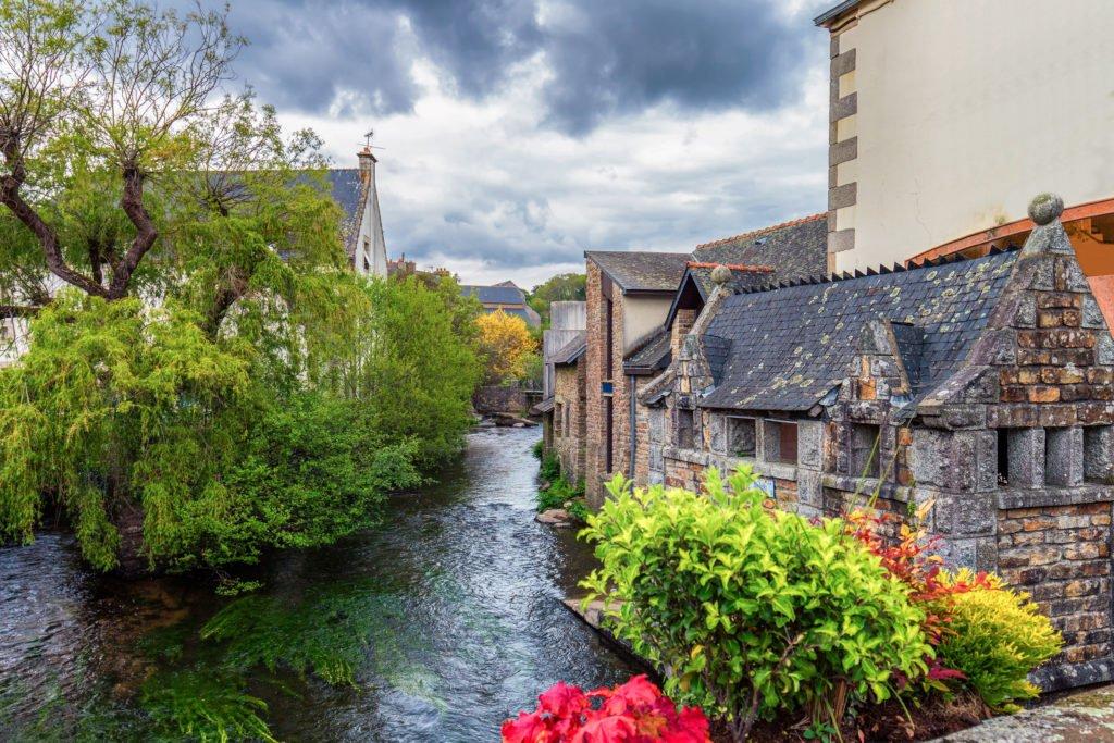 Pont-Aven uno de los pueblos más bellos de Bretaña