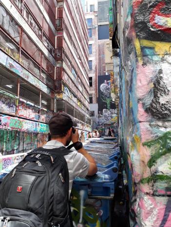 Hosier Lane: arte callejero en Melbourne