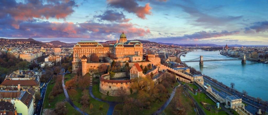 Castillo de Buda en Hungría