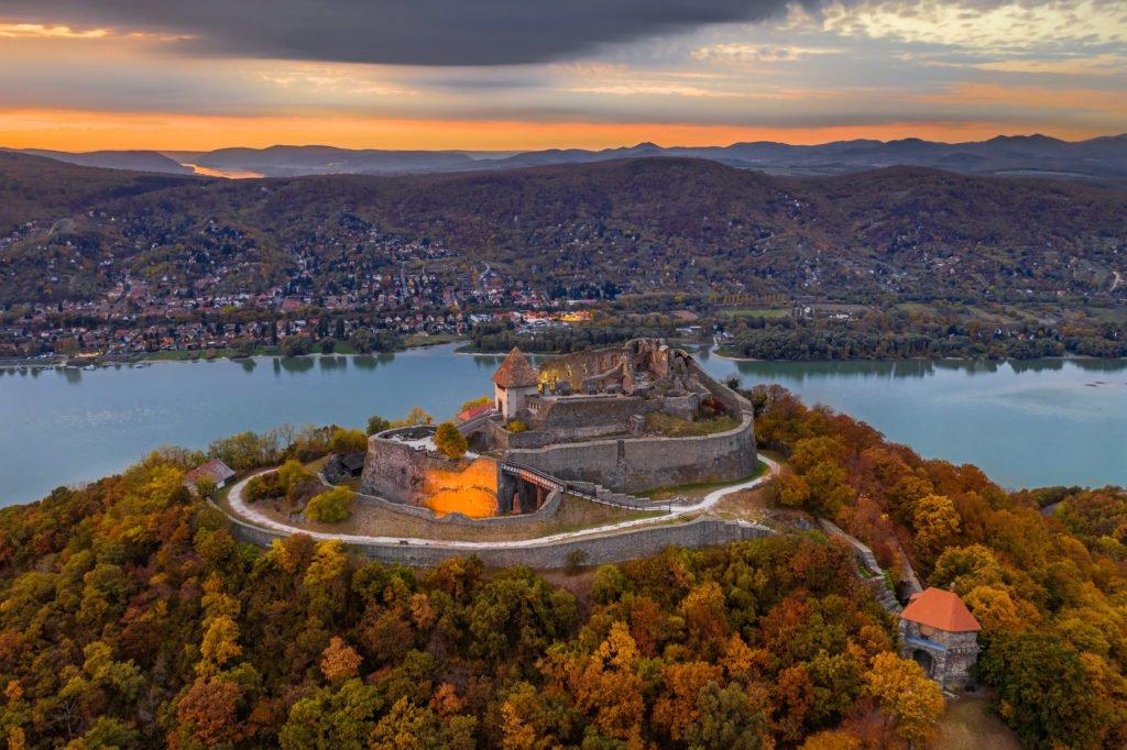 la fortaleza de Visegrad