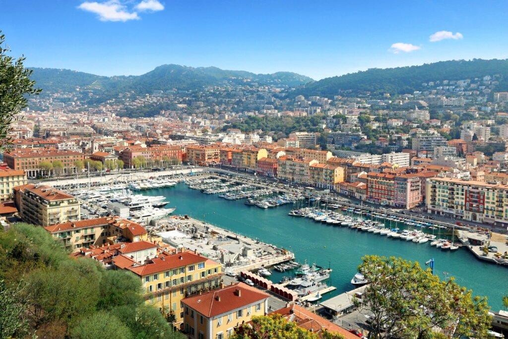 distrito portuario de Niza