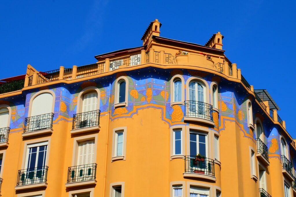 Barrio de los músicos de Niza