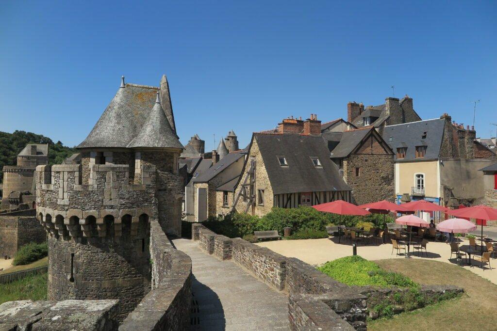 La naturaleza de Bretaña en Francia