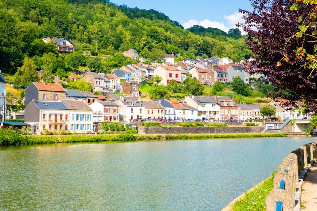 Naturaleza de las Ardenas en Francia