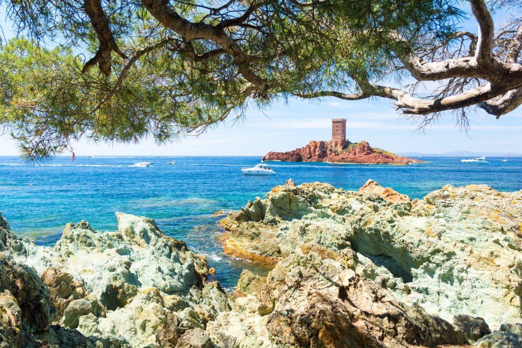 Riviera francesa Francia Dramont Esterel