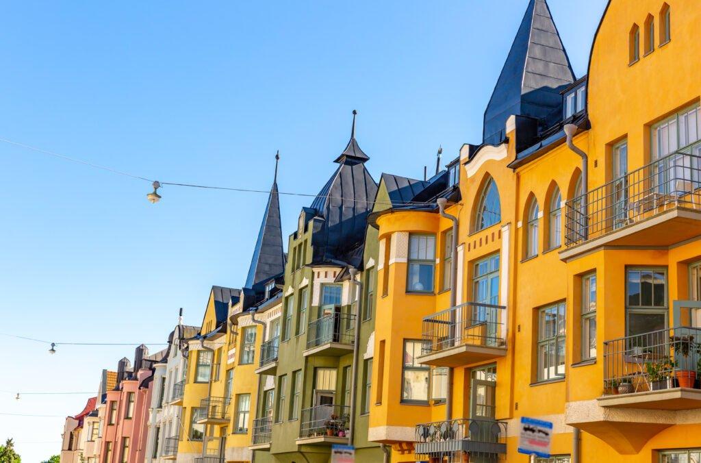 Huvilakatu en Helsinki