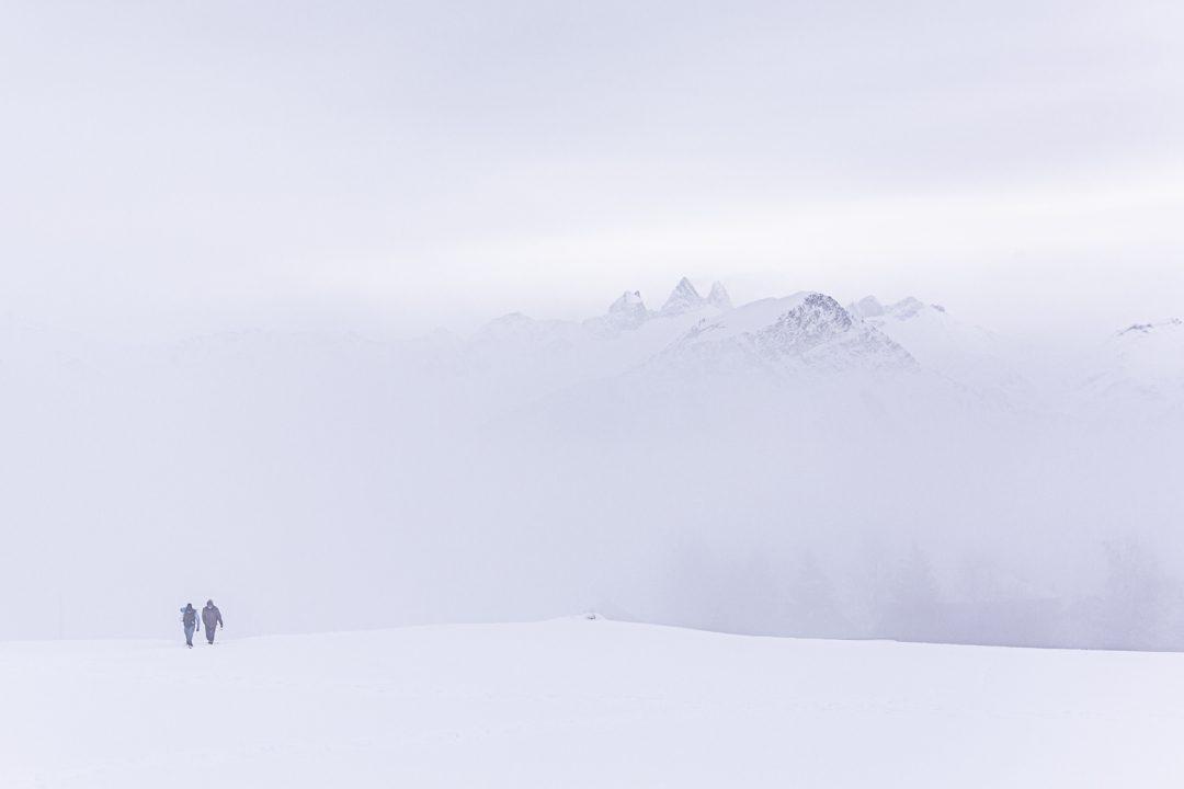 1611680520 890 Imagenes de un invierno en la montana sin remontes