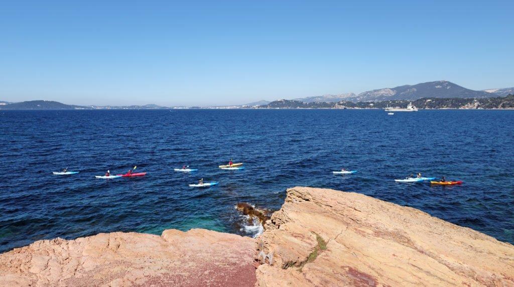 Kayak en Toulon