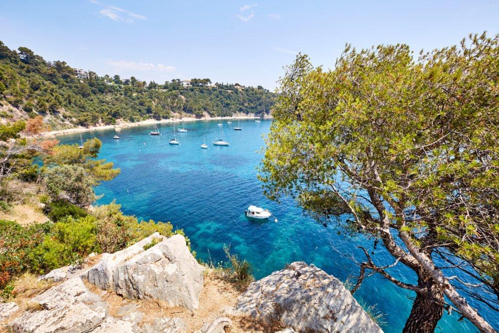 Anse de Méjean en Toulon