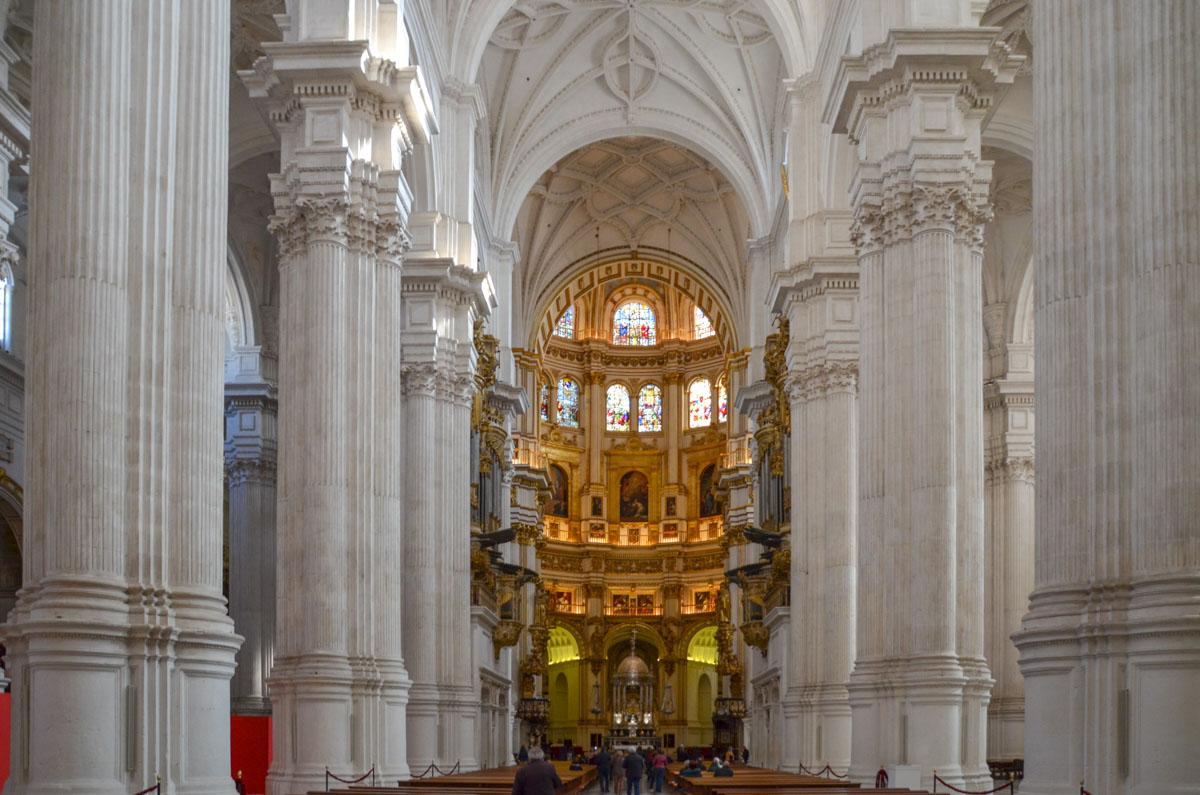 granada de nef-cathedrale