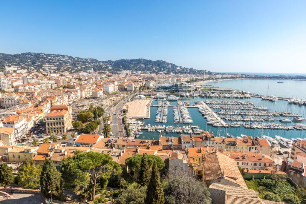 El puerto de Cannes