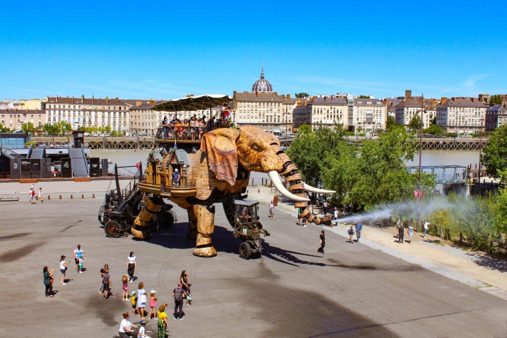 máquinas de Nantes inusuales en Francia