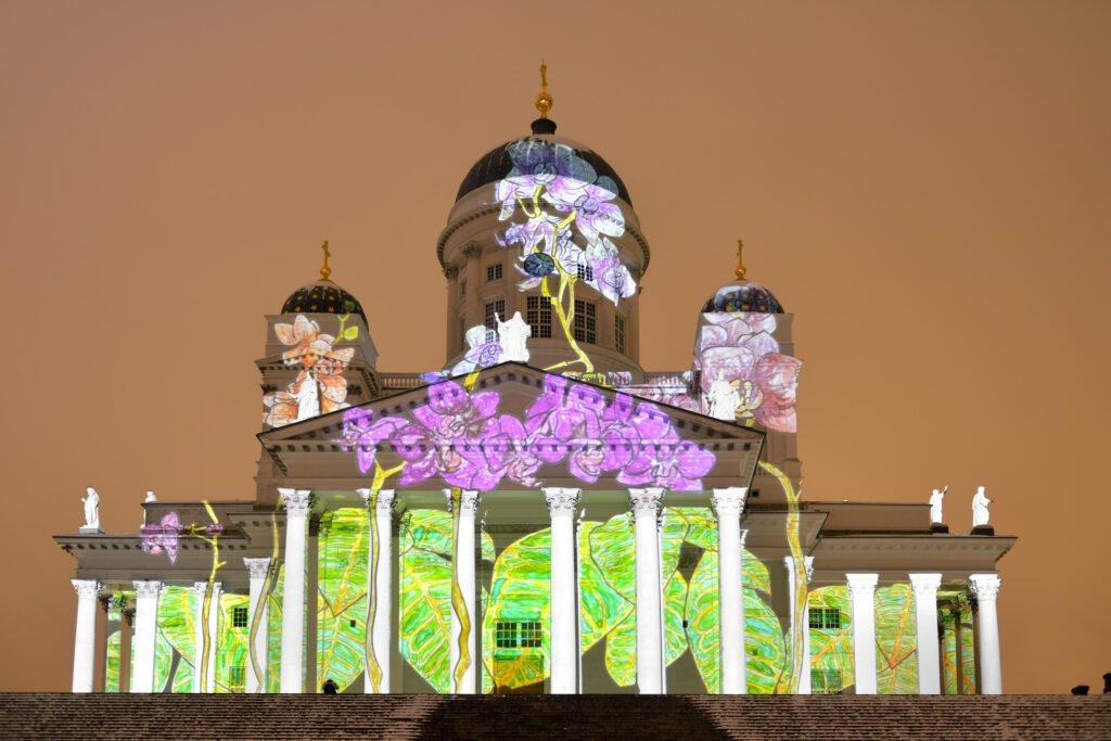 festival de luces en helsinki