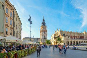 Cracovia-torre-reloj