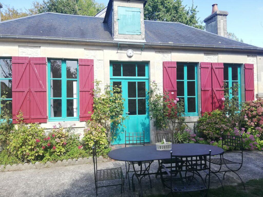 Casa de Airbnb en Normandía