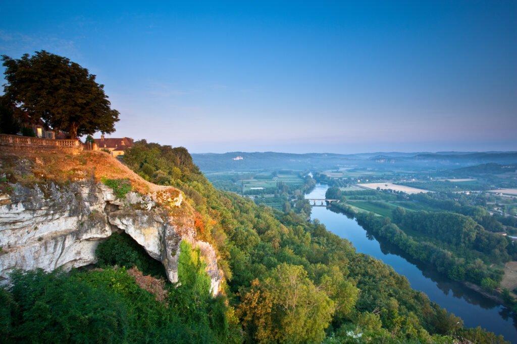 Domme y Dordogne