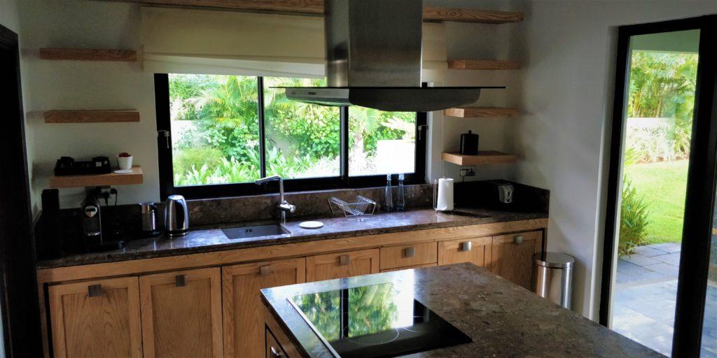 Cocina en la Deluxe Residence Villa Four Seasons Mauritius