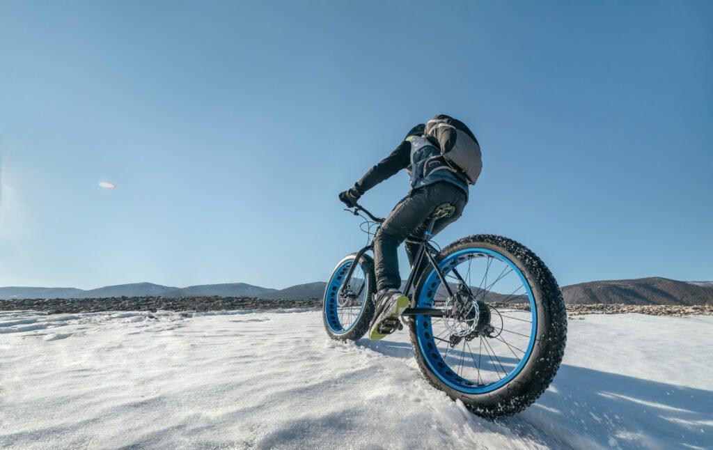 fatbike en invierno
