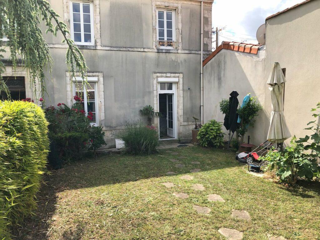 jardín vallado