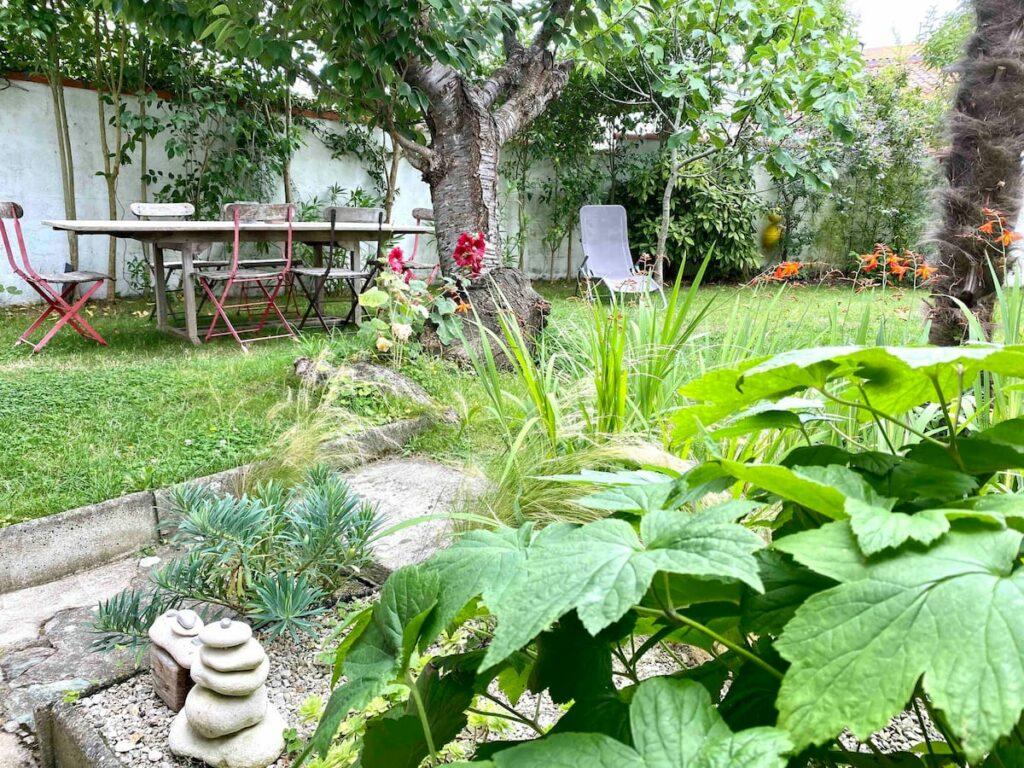 Casa Airbnb con jardín La Rochelle