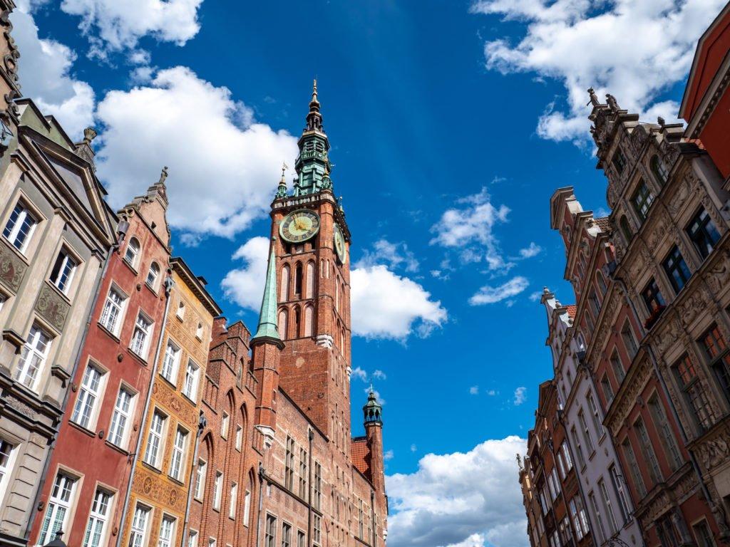 Ayuntamiento de Gdansk, Polonia