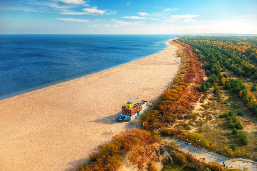 Playa de Stogi que hacer en Gdansk