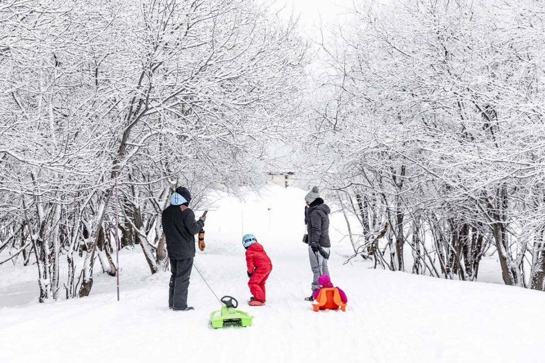 4 paseos sin raquetas de nieve en La Toussuire y