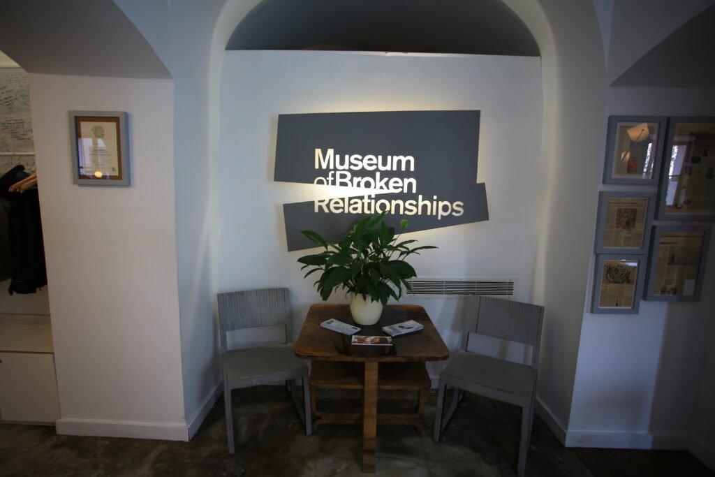 relación de museo interrumpida en Zagreb