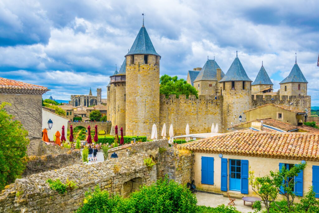 el castillo de Comtal para ver en Carcassonne