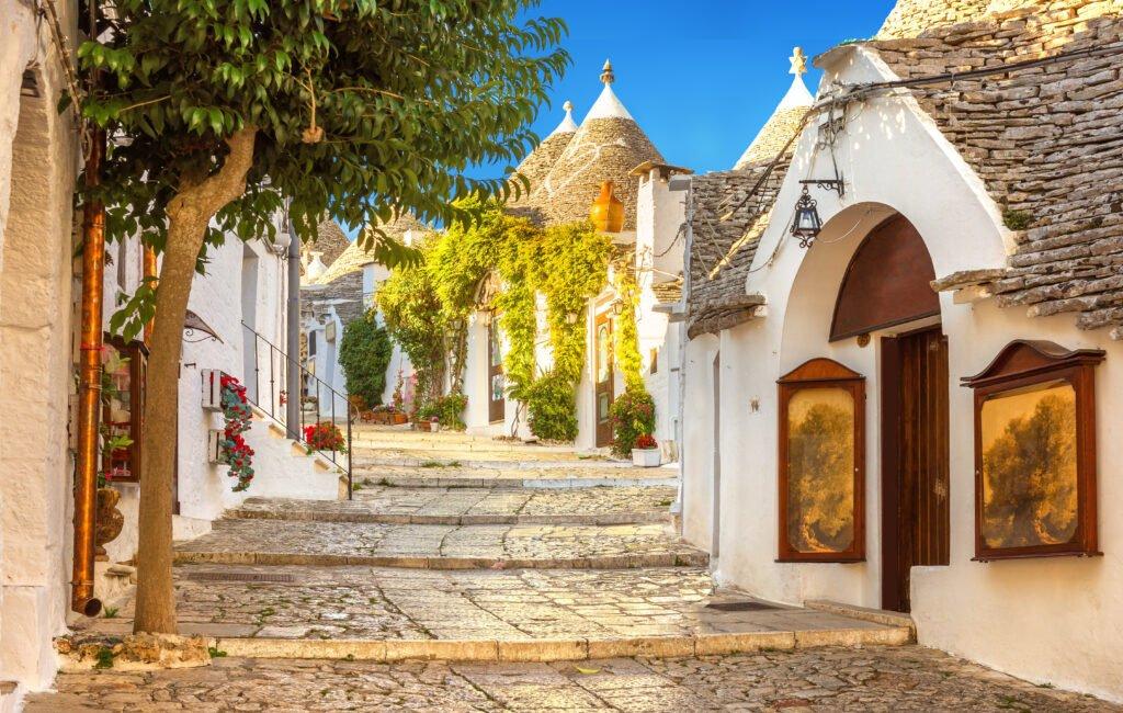 Los trulli de Alberobello