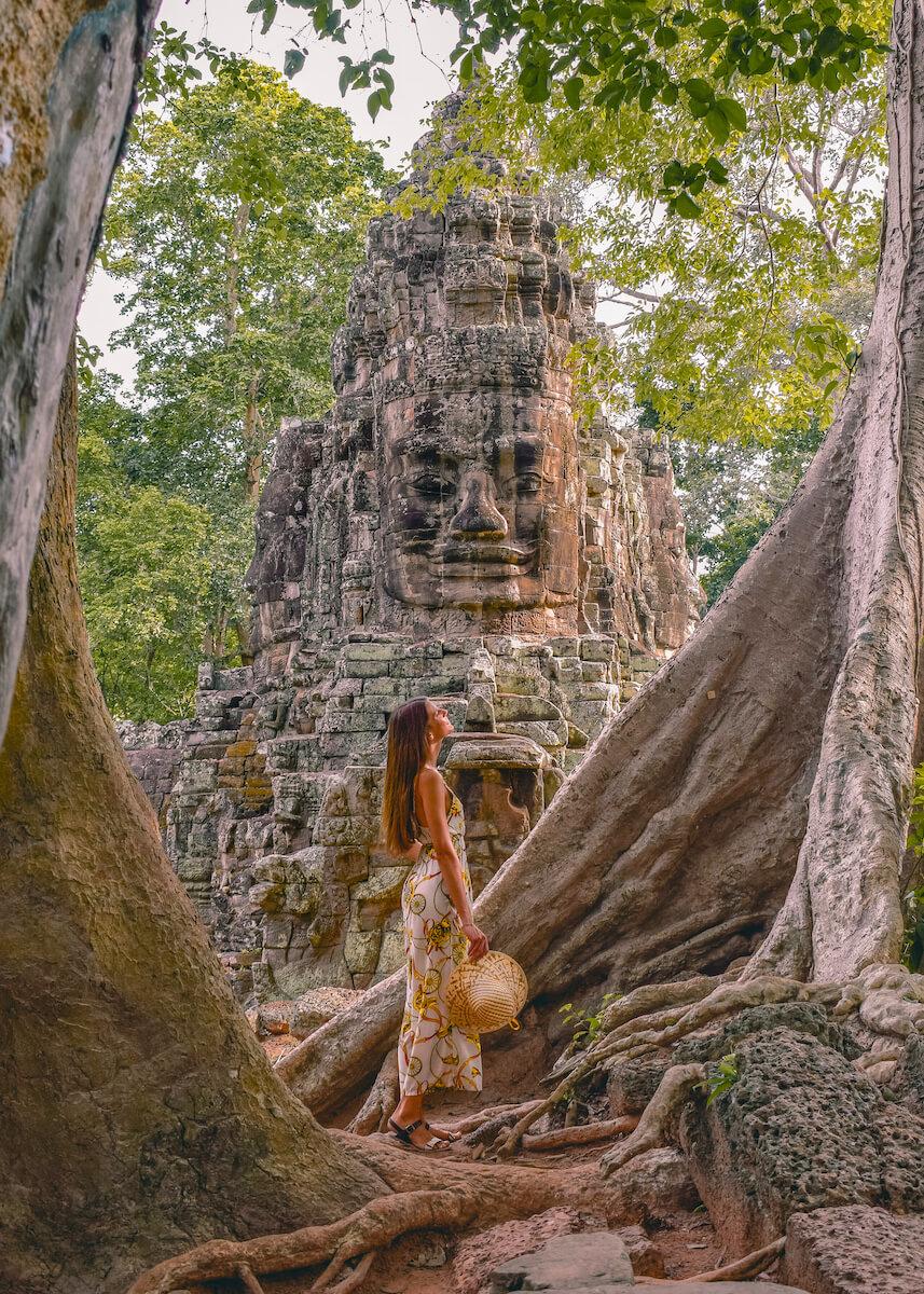 Puerta de la victoria Angkor Camboya