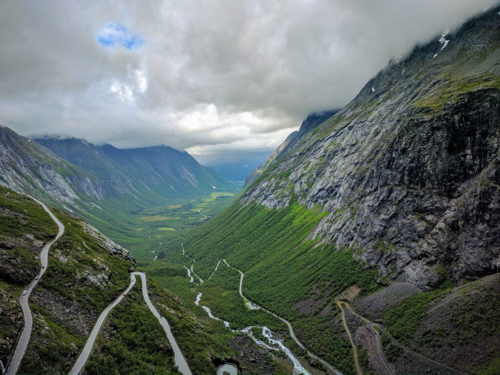 Trollstingen en Noruega