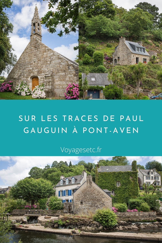 Tras las huellas de Paul Gauguin en Pont-Aven