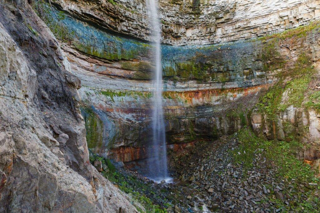 La cascada de Valaste entre los paisajes más bellos de Estonia