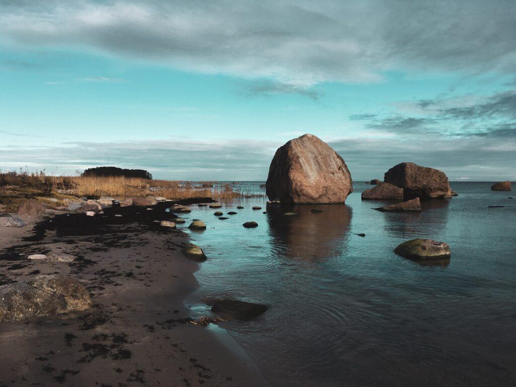 las rocas de Vana Juri Estonia