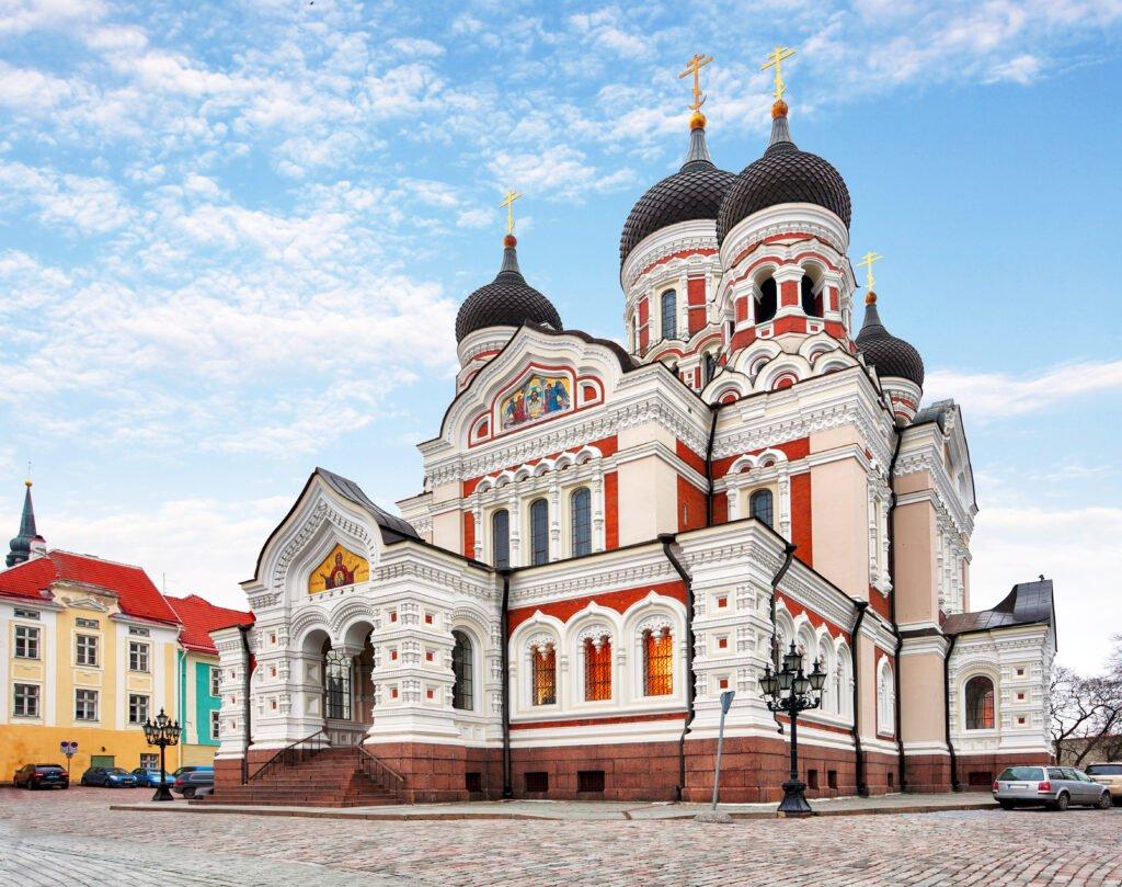 Catedral de Alexander Nevsky en Estonia