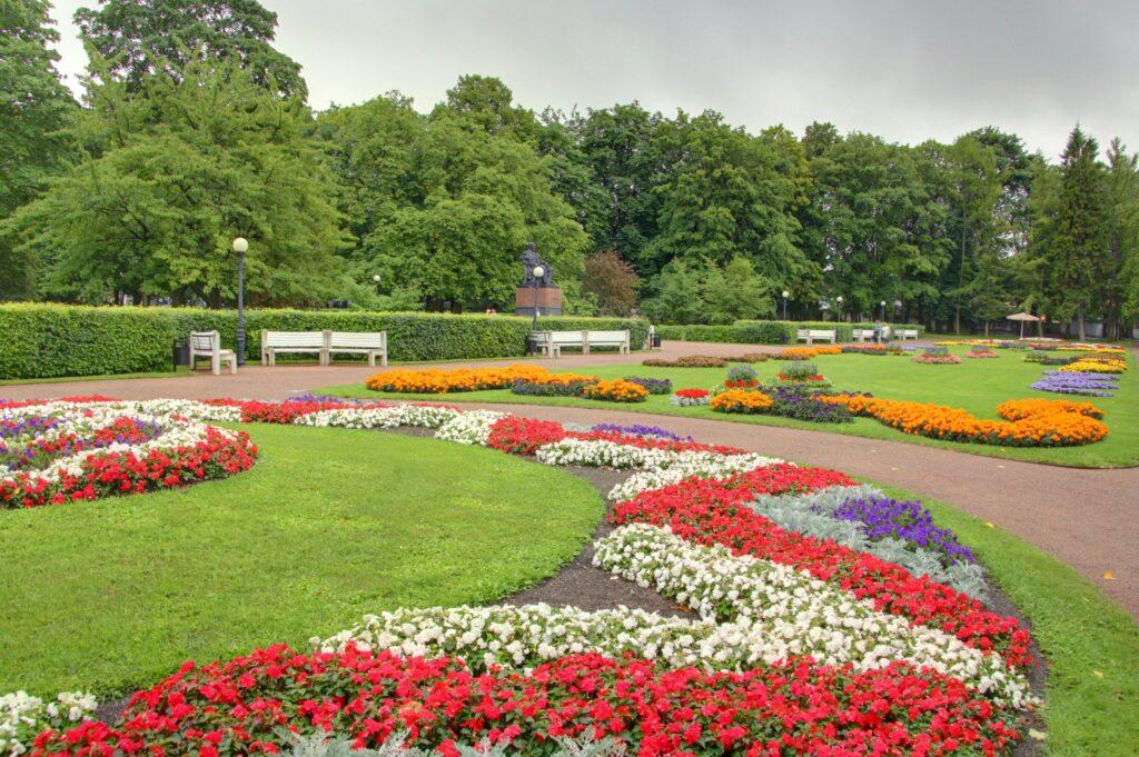 jardín botánico de tallin