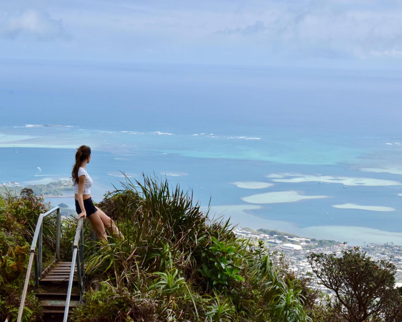 1615752505 72 Como subir las escaleras Haiku en Hawai