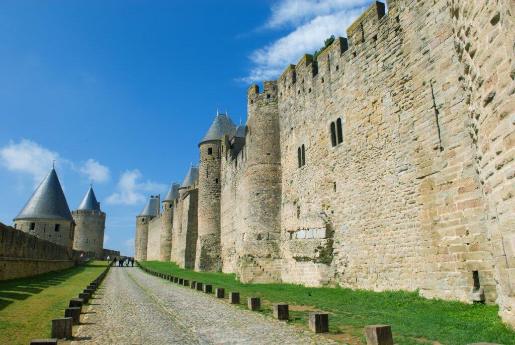El paso de los piojos en Carcassonne