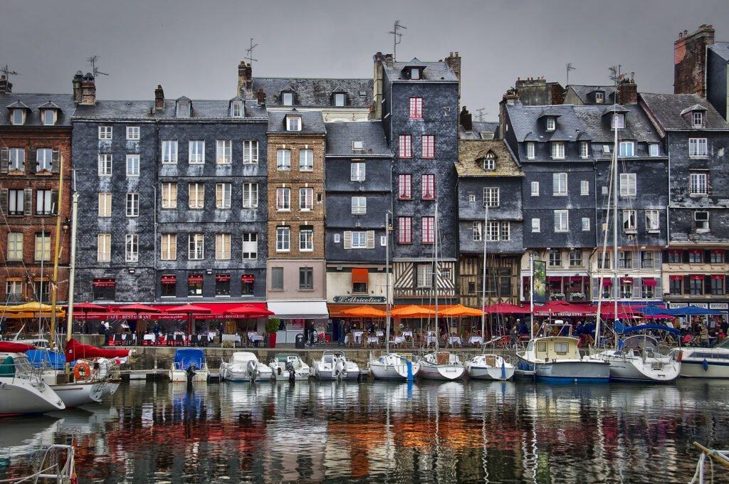 Quai Sainte-Catherine en Honfleur