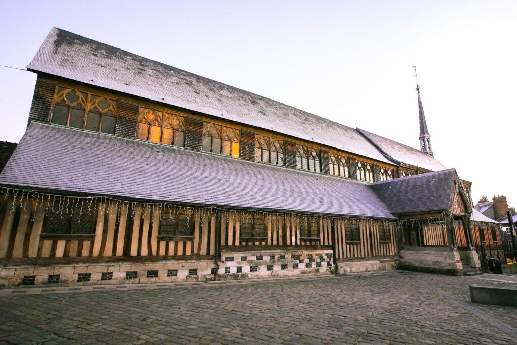 Iglesia de Santa Catalina para hacer en Honfleur