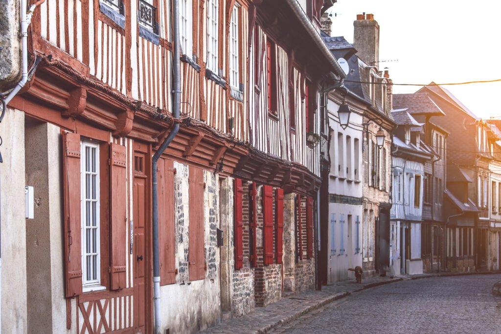 visitar el centro de Honfleur