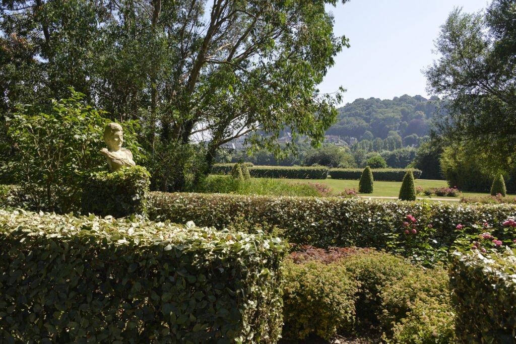 Jardín de personalidades de Honfleur
