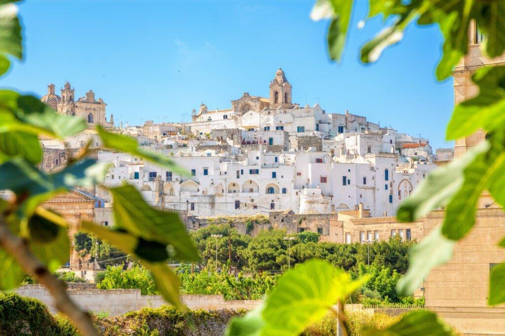 Ostuni en Puglia
