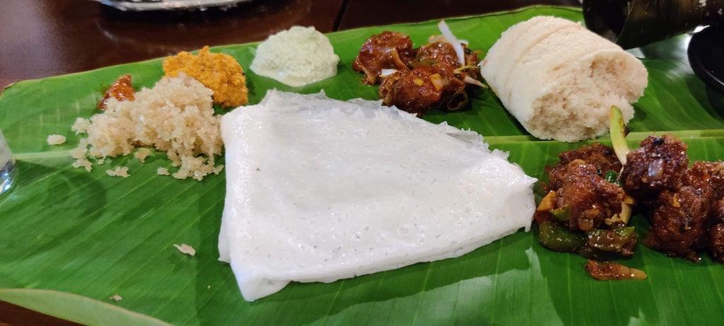 Cocina costera de Karnataka - Fisherman's Bay Beach Cafe, Malpe