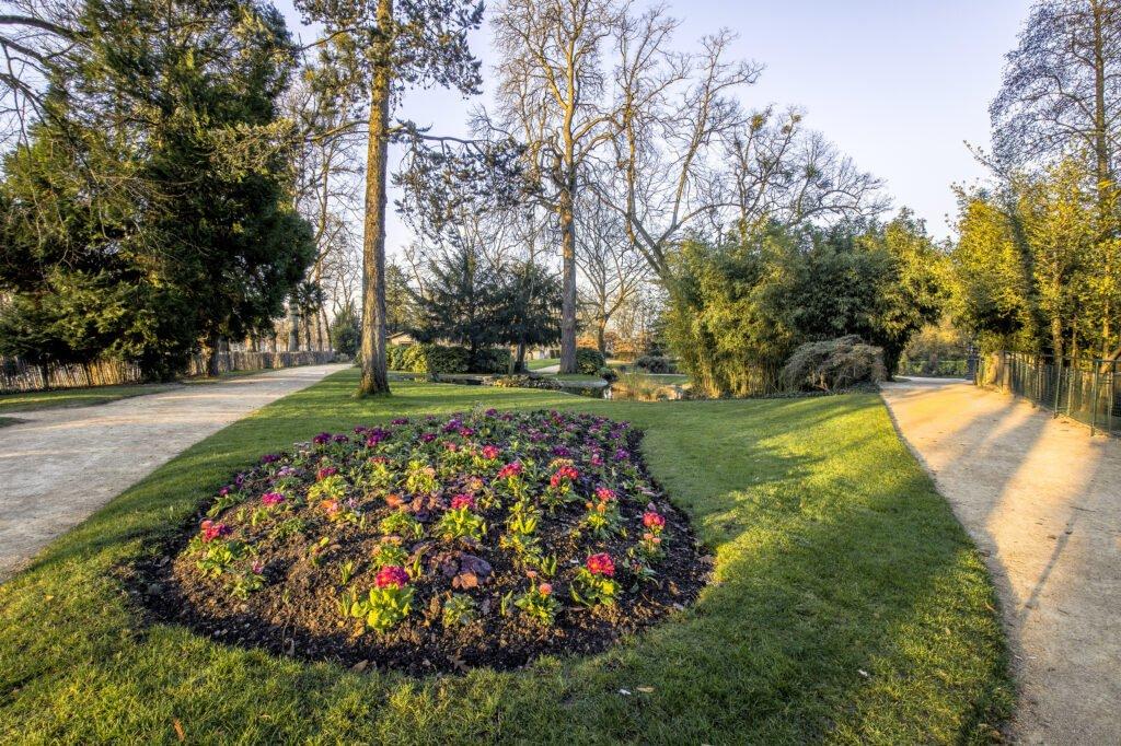 Parque Blossac en Poitiers