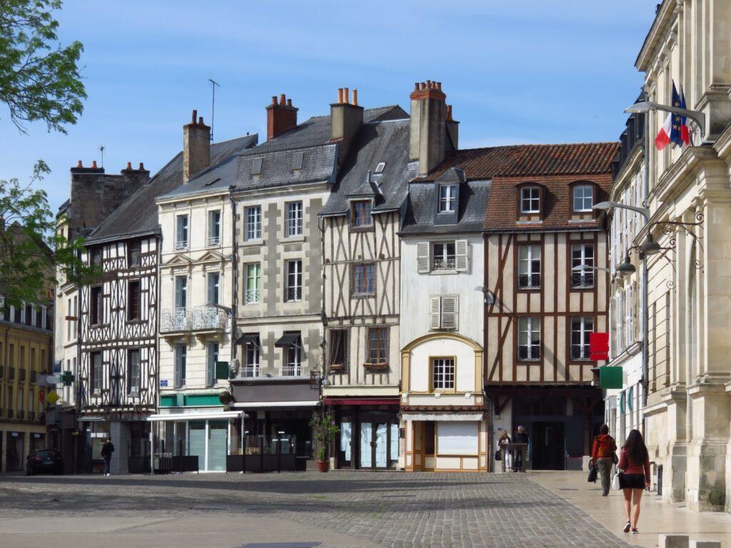 Centro de la ciudad de Poitiers