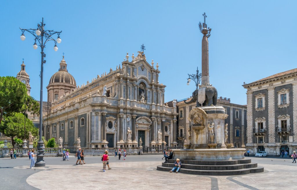 Catania en Sicilia